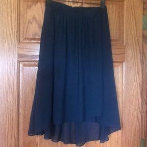 Ann Taylor Navy Skirt